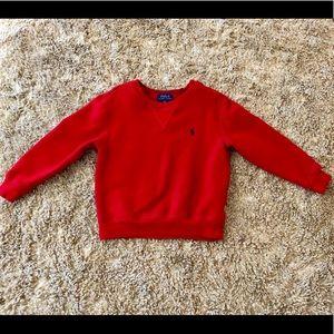 Polo Ralph Lauren Boys sweatshirt 4T.